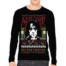Felpa Uomo Alice Cooper. Holiday 2015