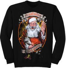 Felpa Unisex Tg. M Mastodon. Hail Santa Holiday