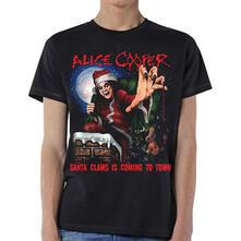 T-Shirt Unisex Alice Cooper. Santa Claws