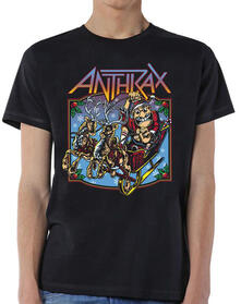 T-Shirt Unisex Anthrax. Christmas Is Coming