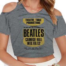 T-Shirt Donna Beatles. Carnegie Hall