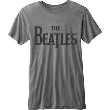 T-Shirt unisex The Beatles. Burn-out Drop T Logo