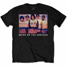 T-Shirt Unisex Bring Me The Horizon. Photo Lines