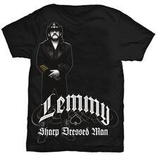 T-Shirt Unisex Lemmy. Sharp Dressed Man