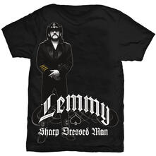 T-Shirt Unisex lemmy. Sharp Dressed Man