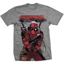 T-Shirt unisexDeadpool. Big Print