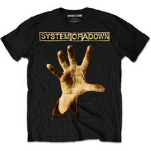 T-Shirt Unisex System Of A Down. Hand