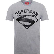 T-Shirt Unisex Tg. L Dc Comics. Superman Logo Spray