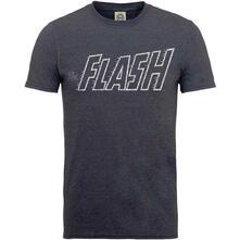 T-Shirt Unisex Tg. S Dc Comics. Originals Flash Crackle Logo