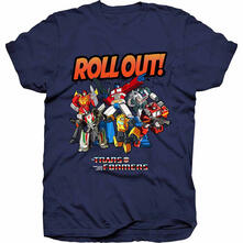 T-Shirt Unisex Hasbro. Transformers Roll Out