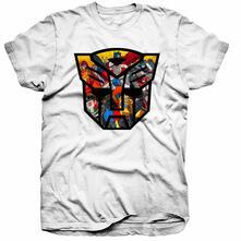T-Shirt Unisex Hasbro. Transformers Autobot Shield Montage
