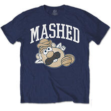 T-Shirt Unisex Tg. XL Hasbro. Mr Potato Head Mashed