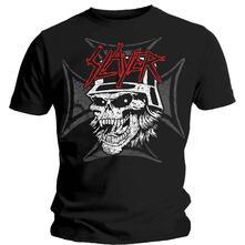 T-Shirt Unisex Slayer. Graphic Skull
