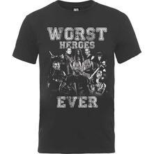 T-Shirt Unisex Dc Comics. Suicide Squad Worst Heroes