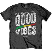 T-Shirt Unisex Bob Marley. Good Vibes