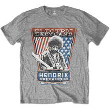 T-Shirt Unisex Jimi Hendrix. Electric Ladyland