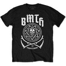 T-Shirt Unisex Tg. S Bring Me The Horizon. Crooked Black