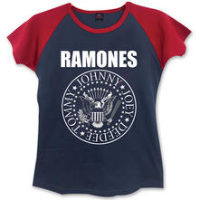 T-Shirt Donna Ramones. Presidential Seal Blue,Red