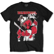 T-Shirt Unisex Marvel Comics. Deadpool Max