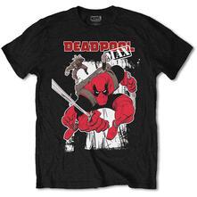 T-Shirt Unisex Marvel Comics. Deadpool Max