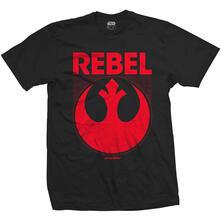 T-Shirt Unisex Star Wars. Episode Vii Rebel