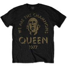 T-Shirt Unisex Queen. We Are The Champions