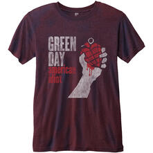 T-Shirt Unisex Green Day. American Idiot