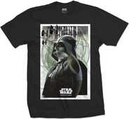Idee regalo T-Shirt Unisex Star Wars. Rogue One Darth Prime Forces 01 Black Rock Off
