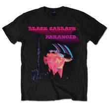 T-Shirt Unisex Black Sabbath. Paranoid Motion Trails Black