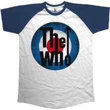 T-Shirt Unisex Raglan Baseball Vintage Target Who