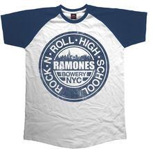 T-Shirt Unisex Ramones. Bowery Nyc