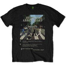 T-Shirt Unisex Abbey Road 8 Track Beatles
