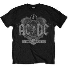 T-Shirt Unisex Tg. M Ac/Dc . Black Ice