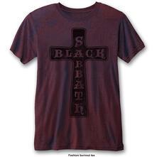 T-Shirt Unisex Tg. L Black Sabbath. Vintage Cross
