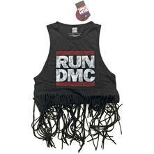 Vestito Donna Tg. M Run Dmc. Logo Vintage With Tassels