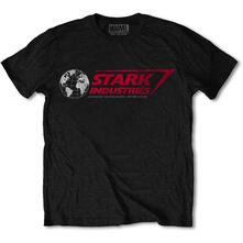 T-Shirt Unisex Tg. S. Marvel Comics Stark Industries