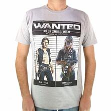 T-Shirt Unisex Tg. S. Star Wars: Wanted Smugglers