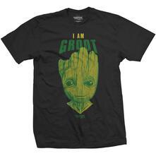 T-Shirt Unisex Tg. XL Guardians Of The Galaxy 2. I Am Groot