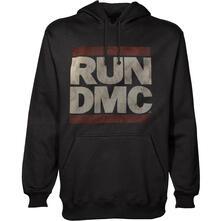 Felpa con Cappuccio Unisex Run Dmc. Logo