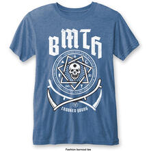 T-Shirt Unisex Tg. M Bring Me The Horizon. Crooked Young