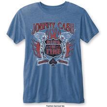 T-Shirt Unisex Tg. M Johnny Cash. Ring Of Fire