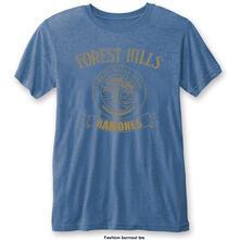 T-Shirt Unisex Tg. M Ramones. Forest Hills Vintage