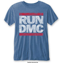 T-Shirt Unisex Tg. S Run Dmc. Vintage Logo