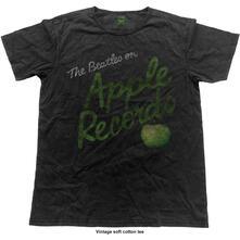 T-Shirt Unisex Tg. 2XL Beatles. Apple Records Vintage Finish