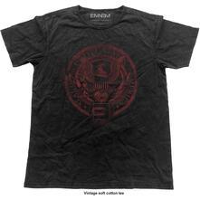 T-Shirt Unisex Tg. 2XL Eminem. Emerica Seal Vintage Finish