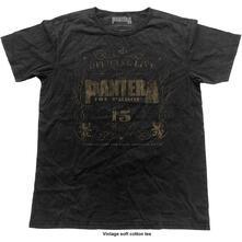 T-Shirt Unisex Tg. S Pantera. 101% Proof Vintage Finish