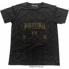 T-Shirt Unisex Tg. 2XL Pantera. 101% Proof Vintage Finish