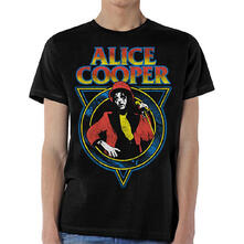 T-Shirt Unisex Alice Cooper. Snake Skin