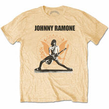 T-Shirt Unisex Tg. L Ramones. Johnny Ramone Rockin N Seal