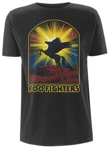 T-Shirt Unisex Foo Fighters. Winged Horse
